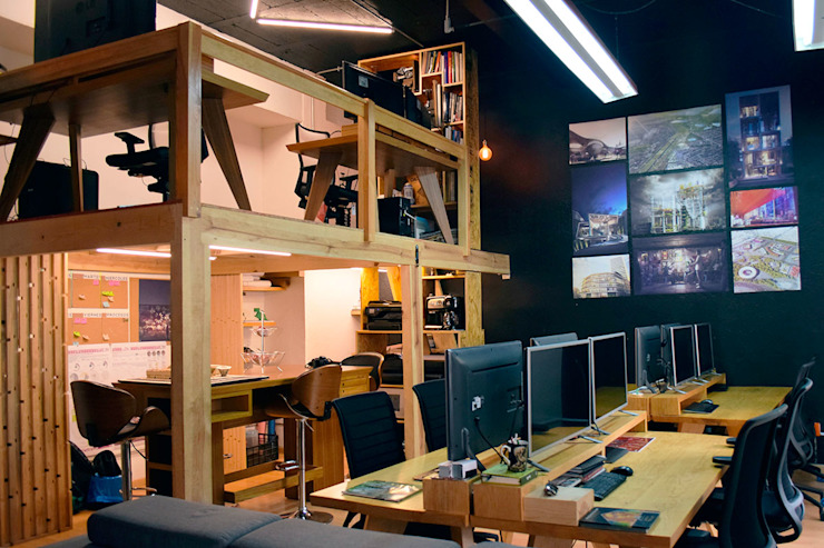 Modern study/office by All Arquitectura Modern