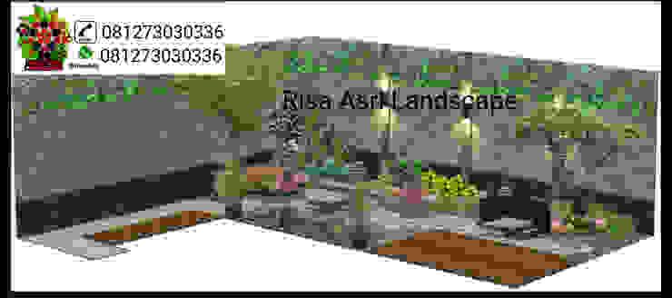 Landscape Dinding & Lantai Gaya Asia Oleh taman Asia Granit