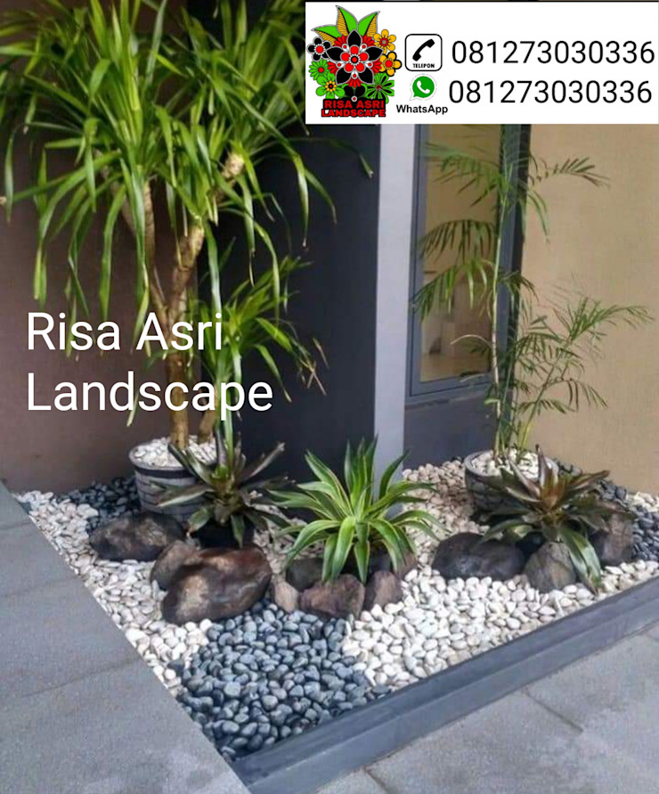 Landscape Oleh taman Country Batu Bata