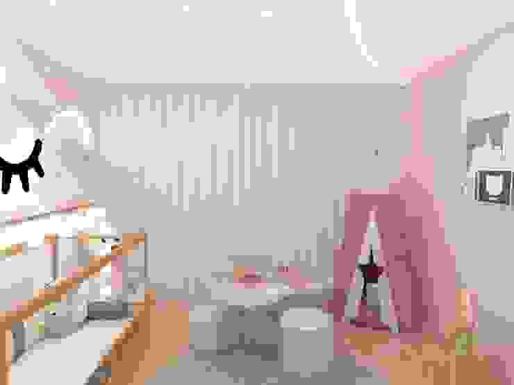 Girls Bedroom by Fareed Arquitetos Associados
