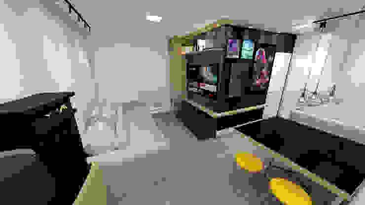 Fareed Arquitetos Associados Living room