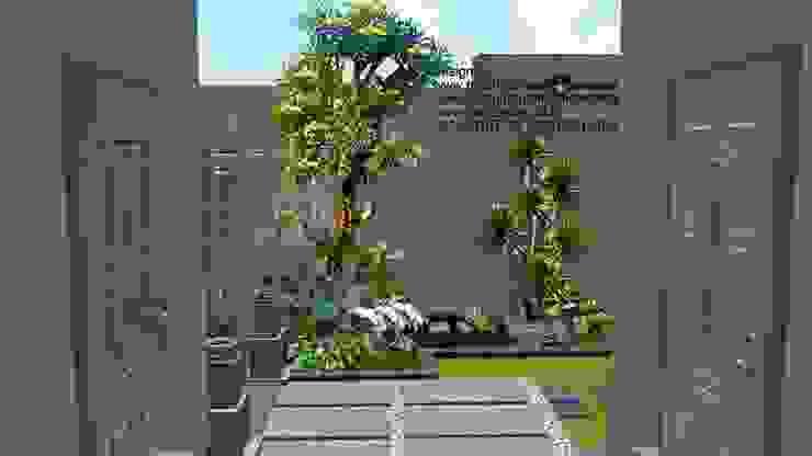 Taman depan rumah surabaya Oleh TUKANG TAMAN SURABAYA - jasataman.co.id Minimalis