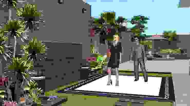 taman halaman samping rumah Oleh TUKANG TAMAN SURABAYA - jasataman.co.id Minimalis
