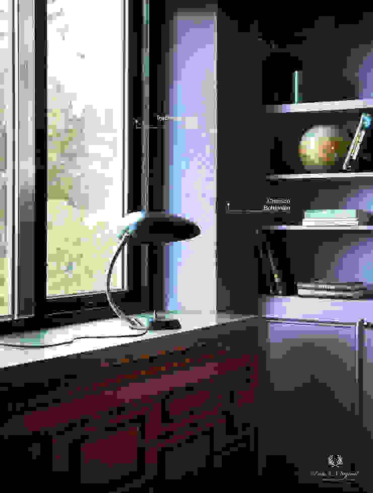 Classico krijtverf in de kleur Bohemian, Traditional Paint in de kleur Black Eclectische muren & vloeren van Pure & Original Eclectisch