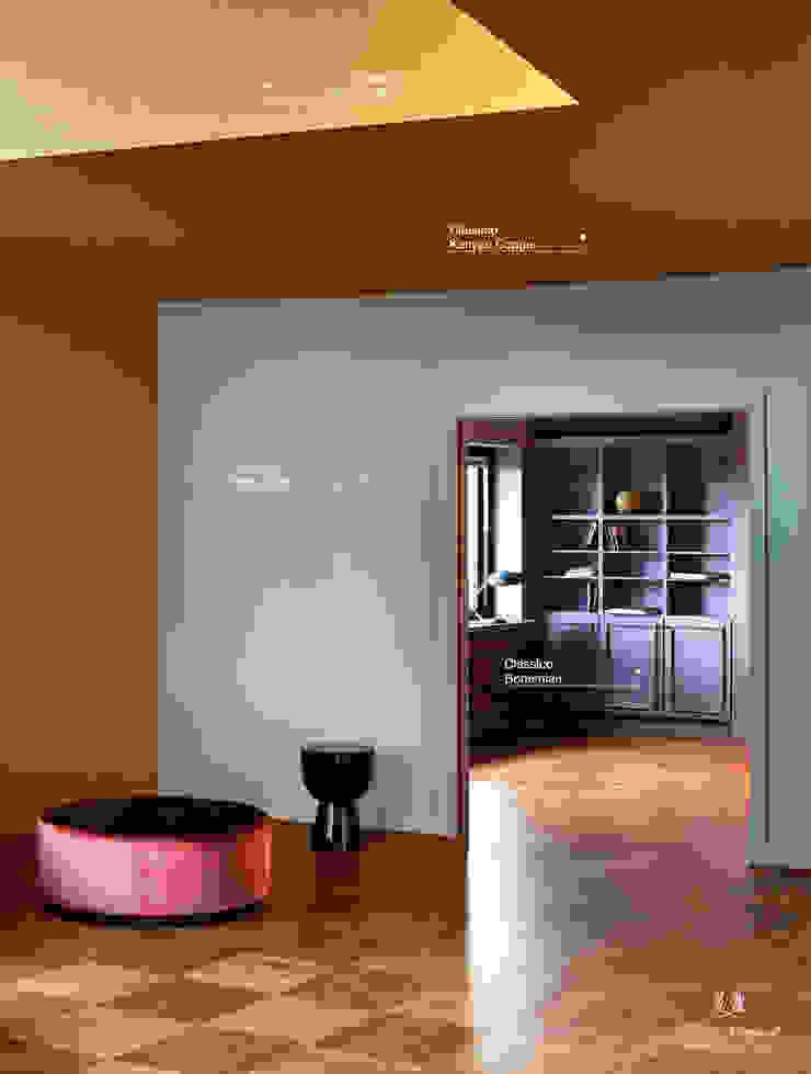 Classico krijtverf in de kleur Bohemian, Polar Blue en Kenyan Copper Eclectische woonkamers van Pure & Original Eclectisch