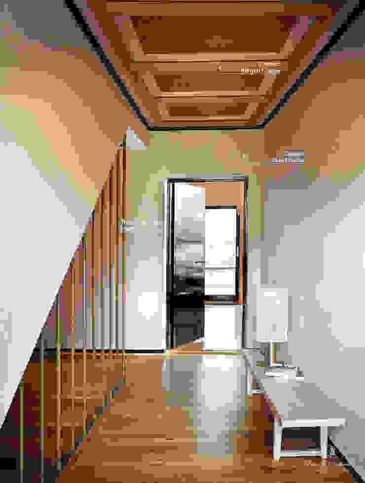 Classico krijtverf in de kleur Skin Powder en Kenyan Copper, Traditional Paint in de kleur Black Eclectische gangen, hallen & trappenhuizen van Pure & Original Eclectisch
