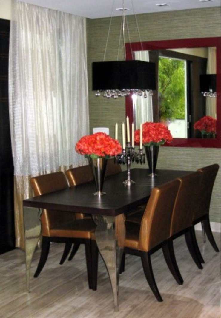 Eclectic style dining room by GC Design Studio Eclectic