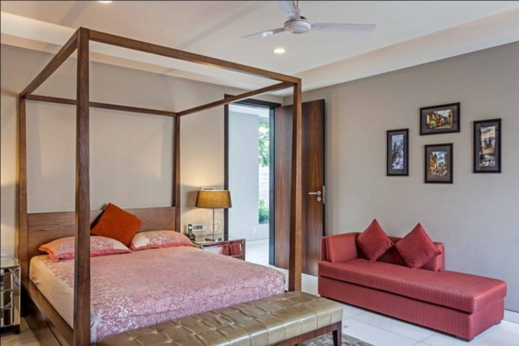 Eclectic style bedroom by GC Design Studio Eclectic