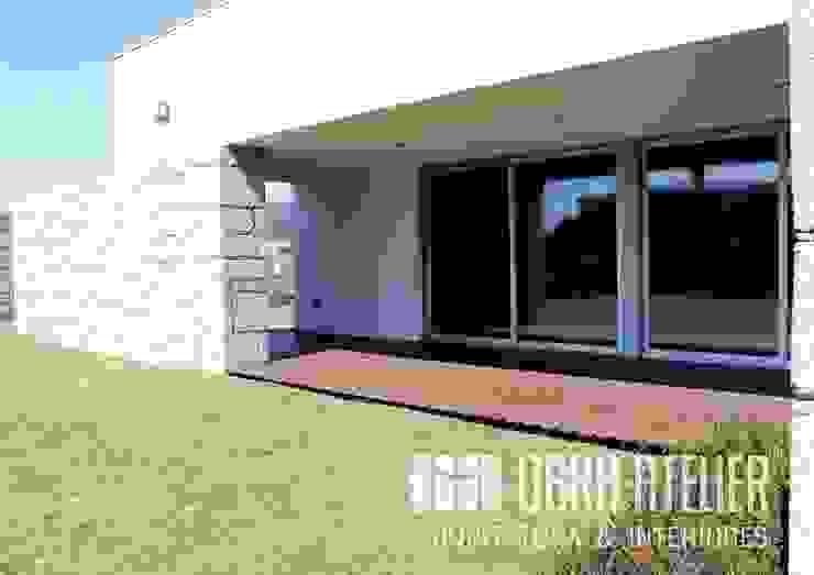 Alpendre   Jardim por OBRA ATELIER - Arquitetura & Interiores Moderno
