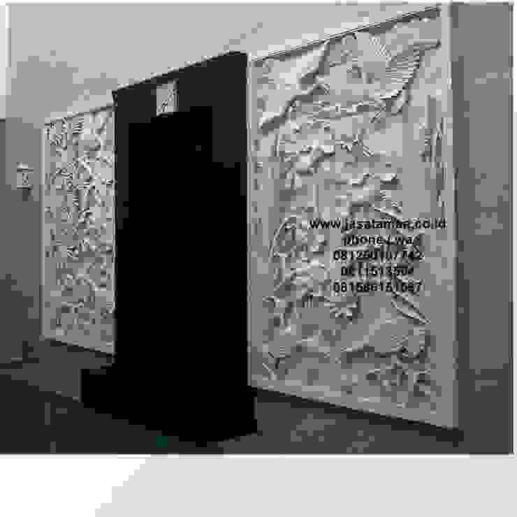 Taman relief dekorasi surabaya jawa timur I:modern  oleh TUKANG TAMAN SURABAYA - jasataman.co.id, Modern
