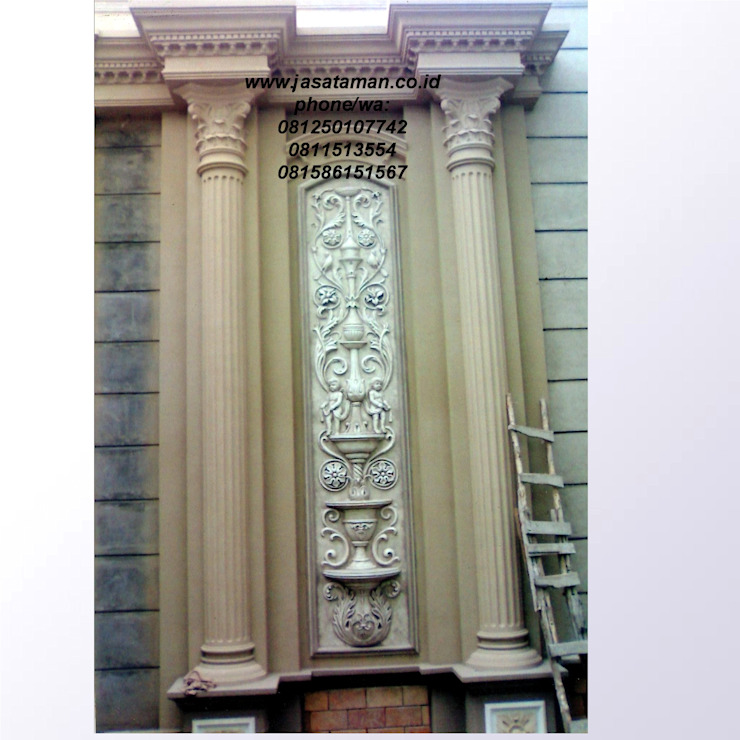 Taman relief dekorasi surabaya jawa timur II:modern  oleh TUKANG TAMAN SURABAYA - jasataman.co.id, Modern