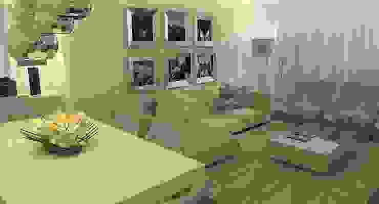 Um ambiente de convívio e de descanso... Salas de estar modernas por Casactiva Interiores Moderno Madeira Acabamento em madeira