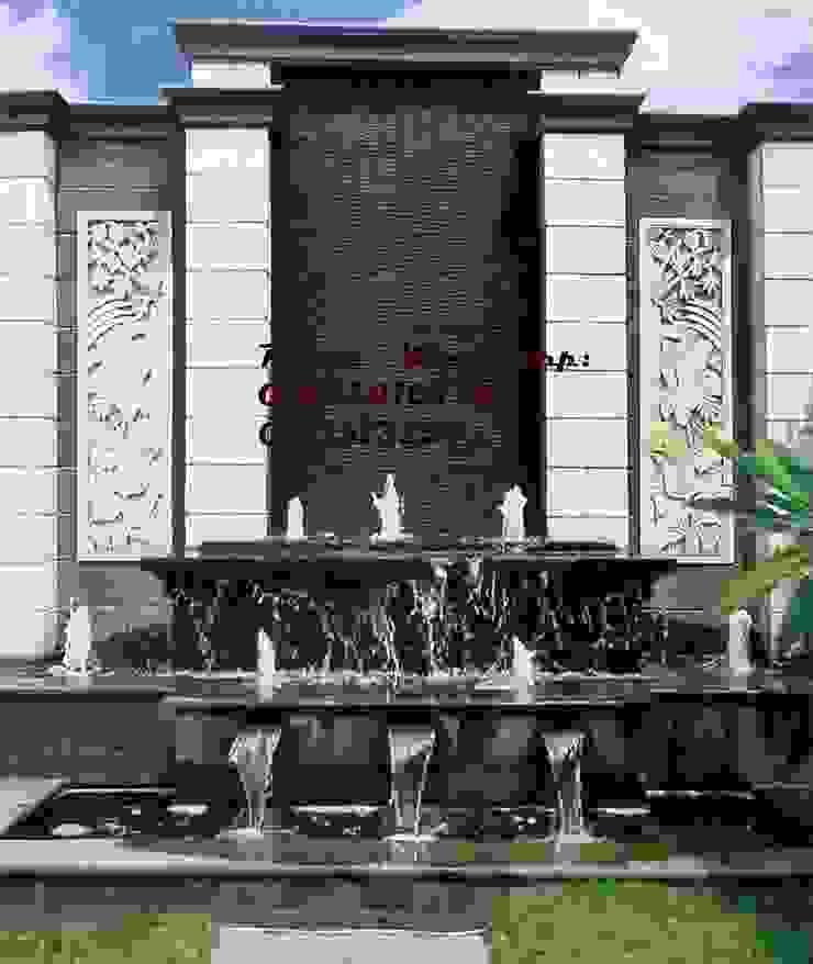 Spesialis jasa pembuatan Air mancur / water wall dan kolam hias koi TUKANG TAMAN SURABAYA - jasataman.co.id Walls & flooringWall & floor coverings Multicolored