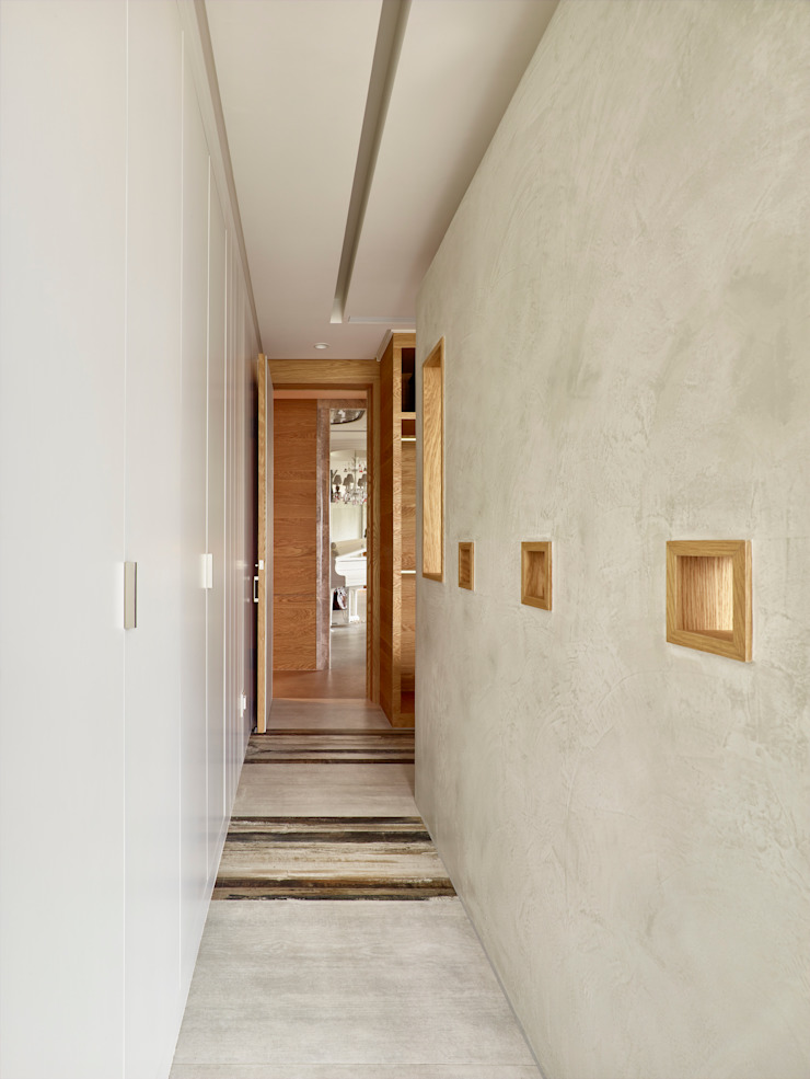 Koridor & Tangga Modern Oleh 形構設計 Morpho-Design Modern