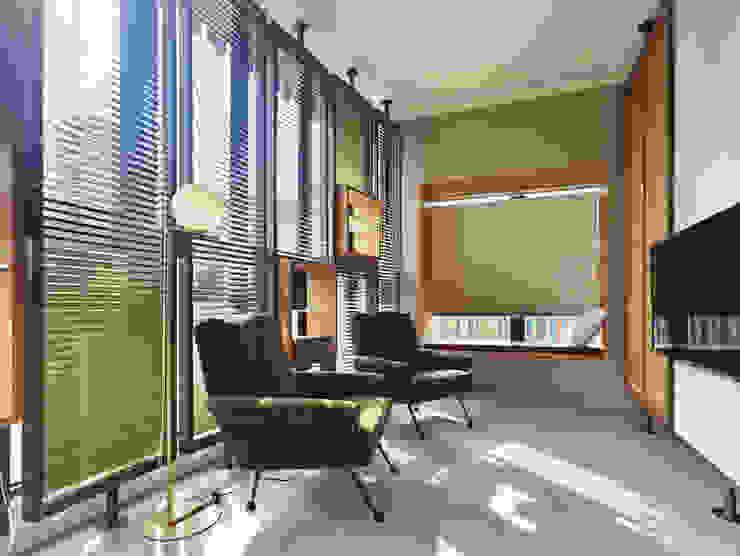 Salle multimédia moderne par 形構設計 Morpho-Design Moderne