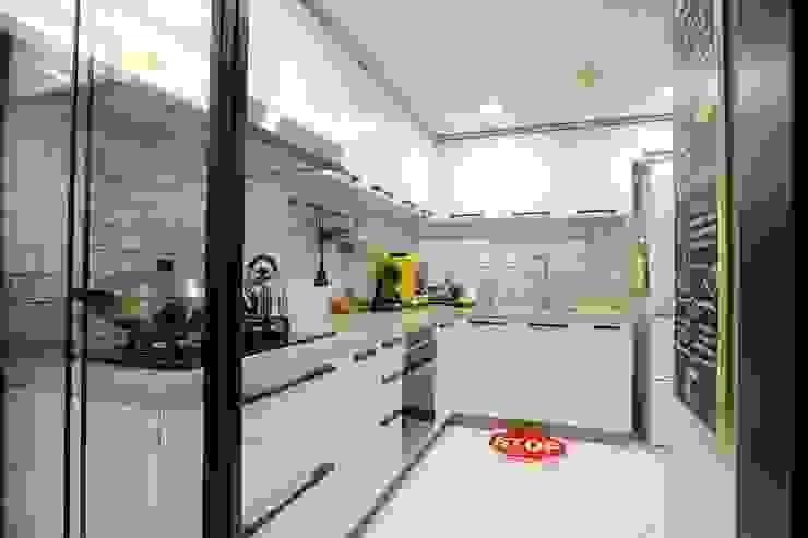 質感輕工業與懷舊三合院的幸福調和 青築制作 系統廚具
