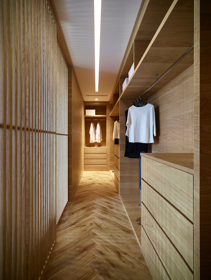 Ruang Ganti Modern Oleh 形構設計 Morpho-Design Modern