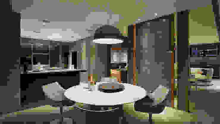 Ruang Makan Modern Oleh 形構設計 Morpho-Design Modern