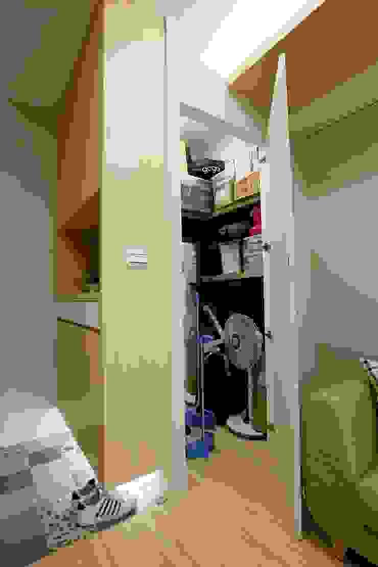 廚房、餐廳、書房、客廳都湊在一塊的熱鬧生活 青築制作 客廳