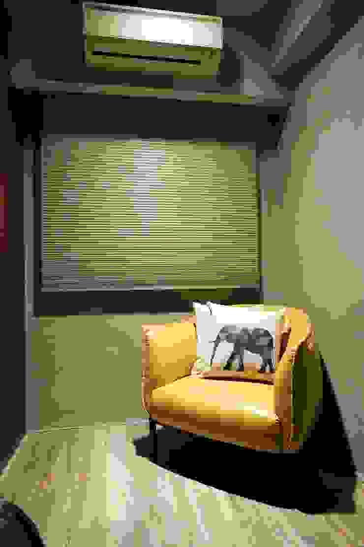 不拖泥帶水的寧靜感住所 青築制作 臥室