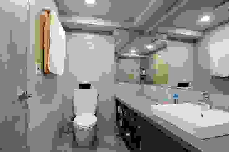 不拖泥帶水的寧靜感住所 青築制作 浴室
