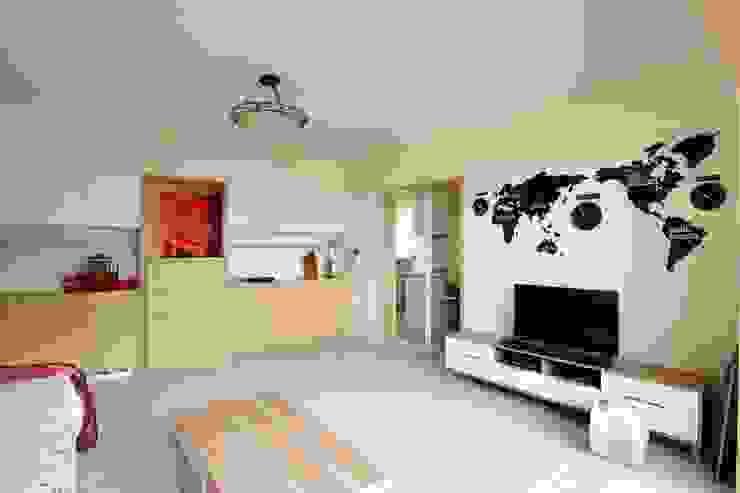 光線充足的北歐空氣宅 根據 青築制作 北歐風