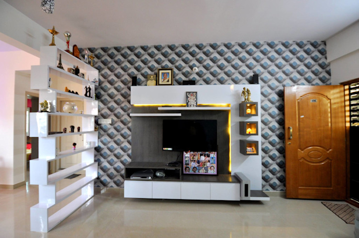 Functional Tv Unit Designs From Interior Designers In Bangalore Homify Homify