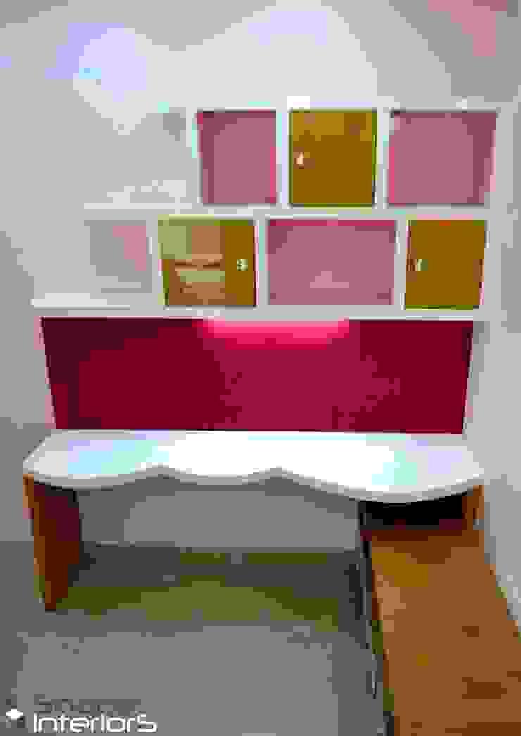 Kids study table Shape Interiors Teen bedroom Engineered Wood Pink