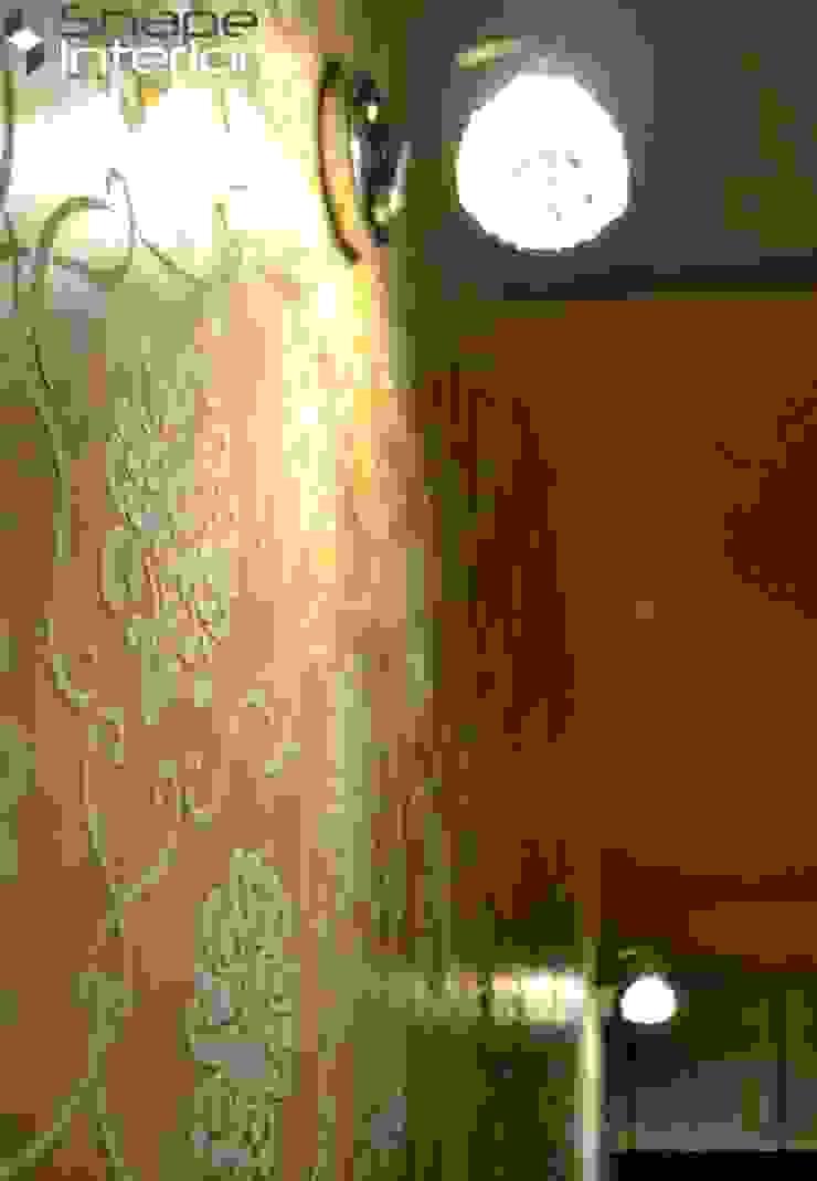 Wallpaper Shape Interiors BedroomLighting