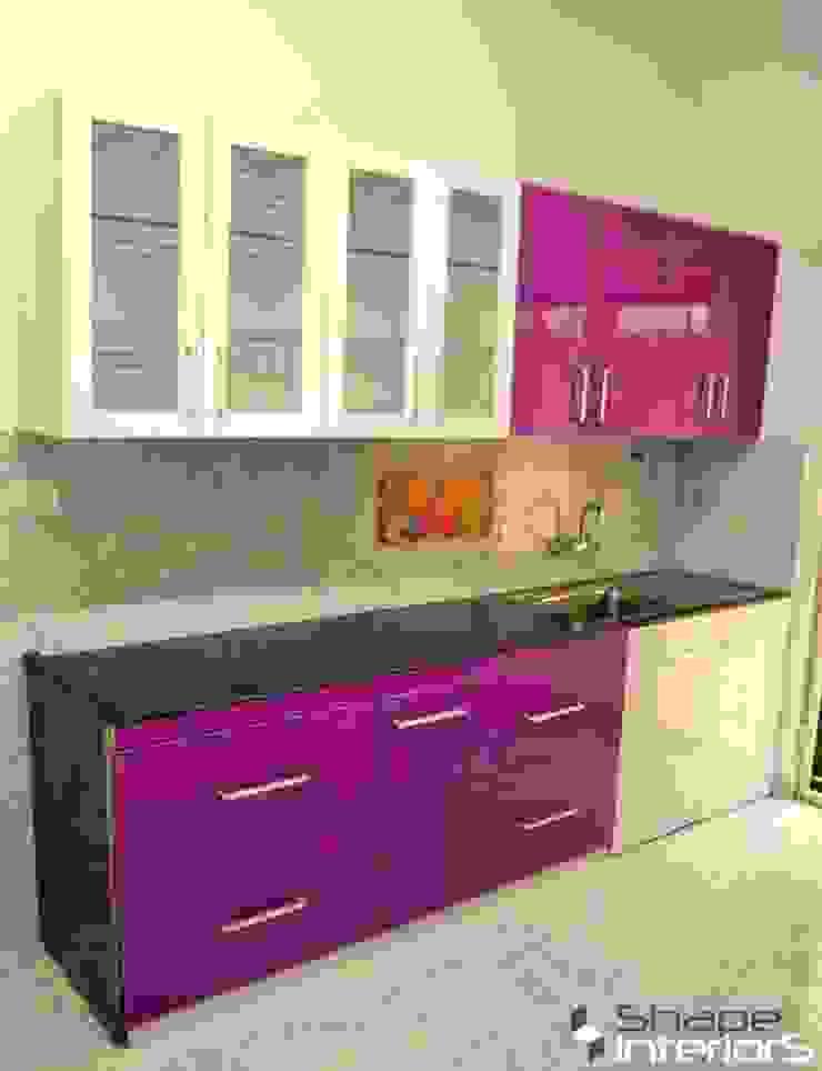 Modular kitchen design Shape Interiors KitchenCabinets & shelves