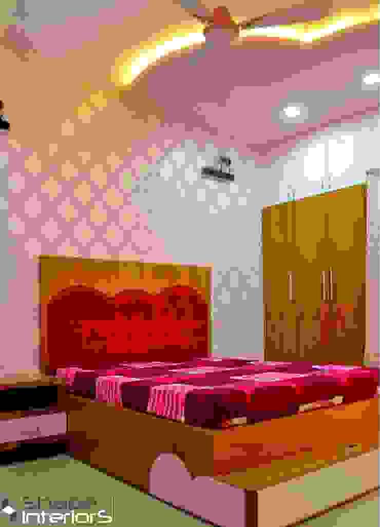 Girl room design Shape Interiors Nursery/kid's roomBeds & cribs