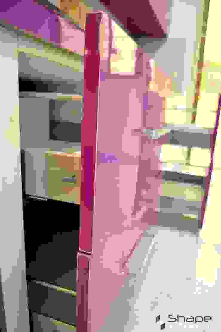 Innotech drawers in kitchen Shape Interiors KitchenCutlery, crockery & glassware