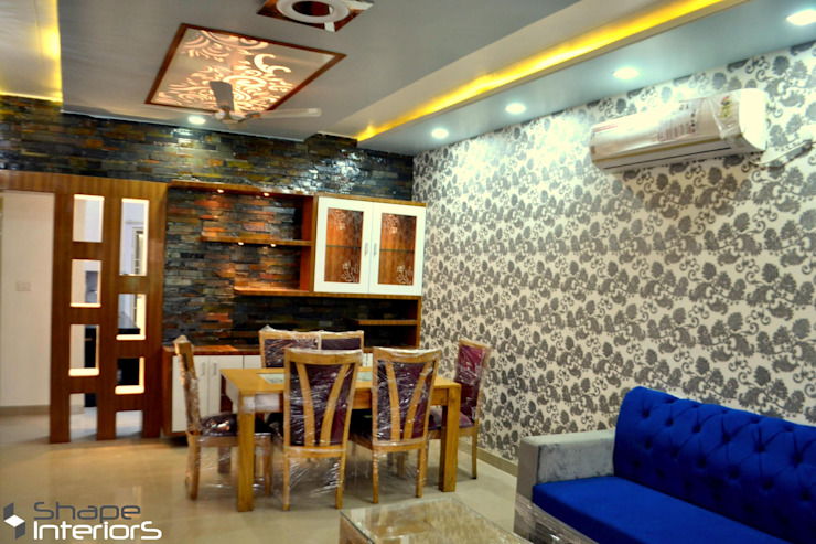 Sofa with dinning area Shape Interiors Living roomSofas & armchairs