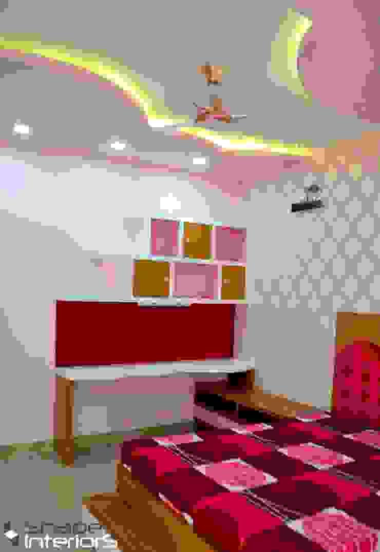 Cloud theme teen room Shape Interiors Nursery/kid's roomDesks & chairs