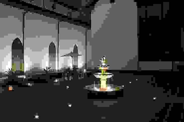 Restauracion patio de concepto colonial de Omar Interior Designer Empresa de Diseño Interior, remodelacion, Cocinas integrales, Decoración Colonial Ladrillos