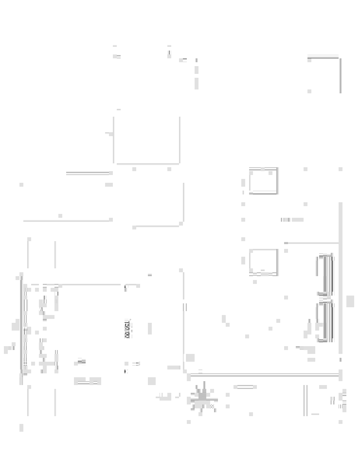Estilo Japones en Santiago Paredes y pisos de estilo ecléctico de Kaa Interior | Arquitectura de Interior | Santiago Ecléctico