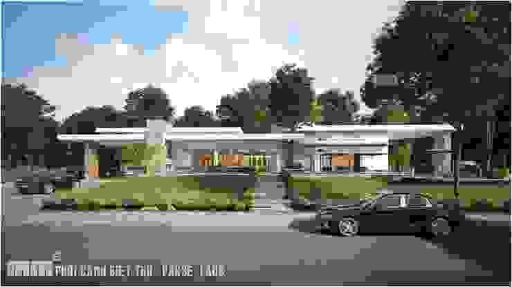 Thiết kế thi công biệt thự Pakse – Lào bởi Công ty Cổ Phần Milimet Vuông