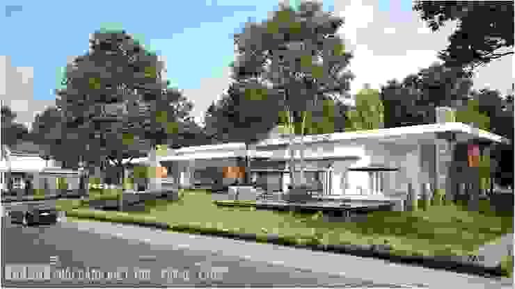 Thiết kế thi công biệt thự Pakse – Lào Công ty Cổ Phần Milimet Vuông
