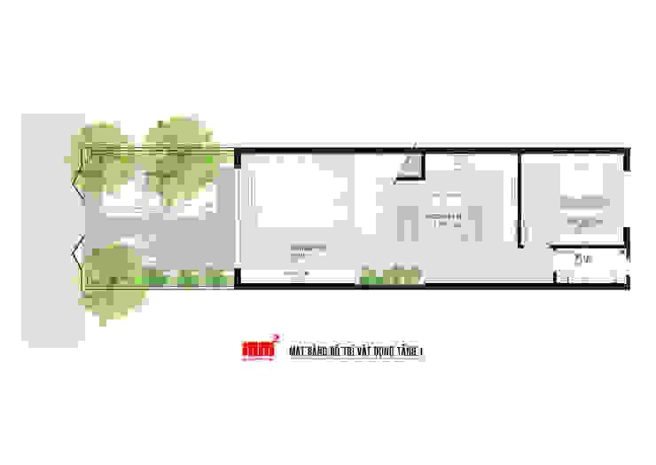 Thiết kế thi công nhà phố Đà Nẵng bởi Công ty Cổ Phần Milimet Vuông