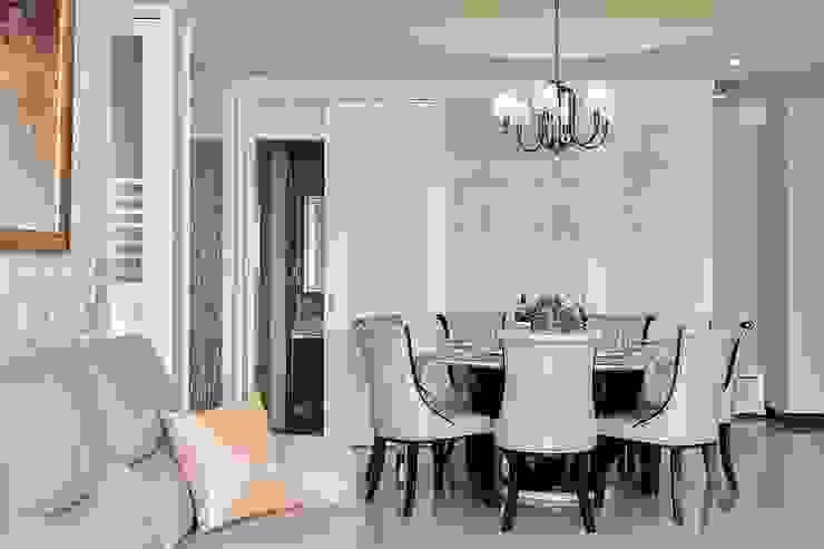 新古典元素的對稱與比例 根據 趙玲室內設計 古典風