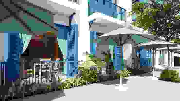 Thiết kế nhà hàng Ocean bởi Công ty Cổ Phần Milimet Vuông