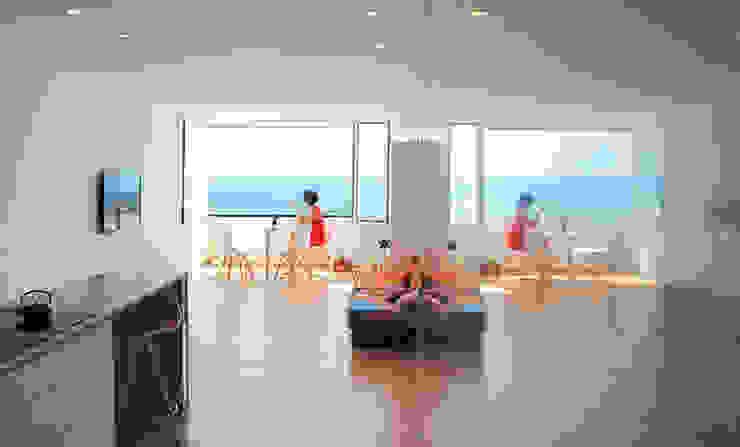 LOFT 53 Livings de estilo minimalista de Loft 26 Minimalista Madera Acabado en madera
