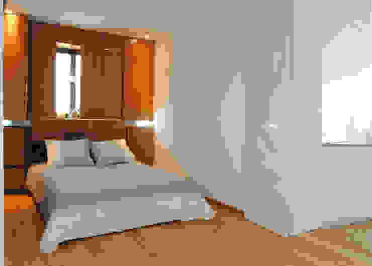 LOFT 53 Dormitorios de estilo minimalista de Loft 26 Minimalista Madera Acabado en madera