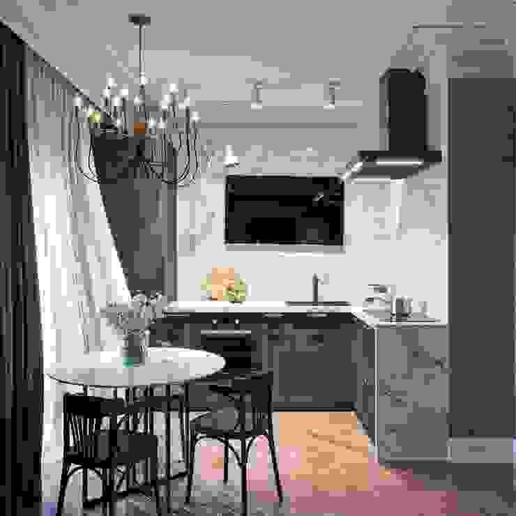 Moon in me Кухня в стиле лофт от IN MY BOX | дизайн интерьера | Екатеринбург Лофт