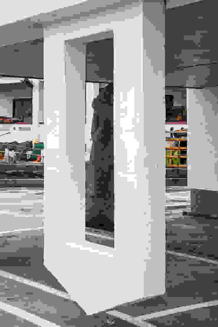 떠있는 벽체와 돌하르방 by 에이오에이 아키텍츠 건축사사무소 (aoa architects) 모던 철근 콘크리트