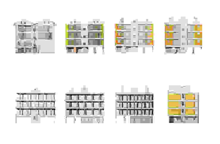 컨셉 스케치 - progress: 에이오에이 아키텍츠 건축사사무소 (aoa architects)의 현대 ,모던
