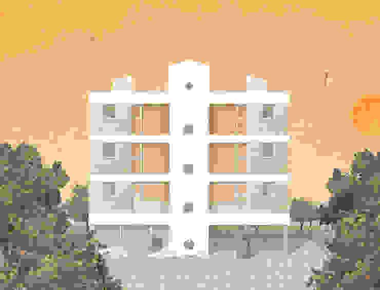 컨셉 콜라쥬 : 에이오에이 아키텍츠 건축사사무소 (aoa architects)의 현대 ,모던
