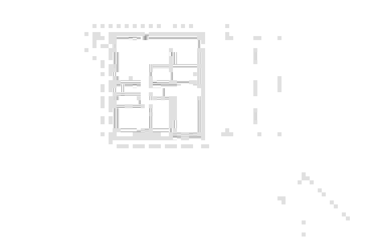 1층 평면도: 에이오에이 아키텍츠 건축사사무소 (aoa architects)의 현대 ,모던