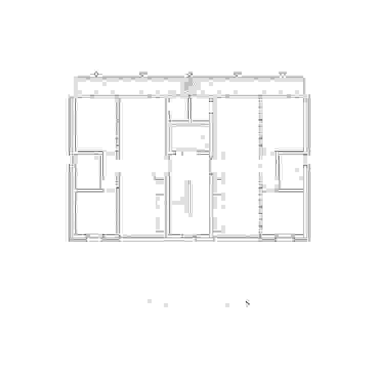 2층 평면도: 에이오에이 아키텍츠 건축사사무소 (aoa architects)의 현대 ,모던