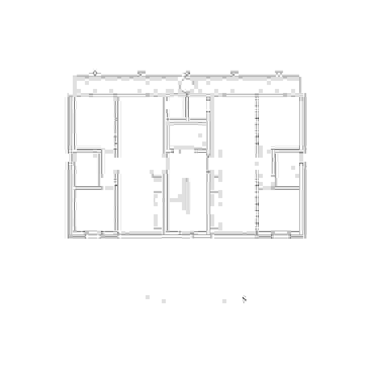 4층 평면도: 에이오에이 아키텍츠 건축사사무소 (aoa architects)의 현대 ,모던
